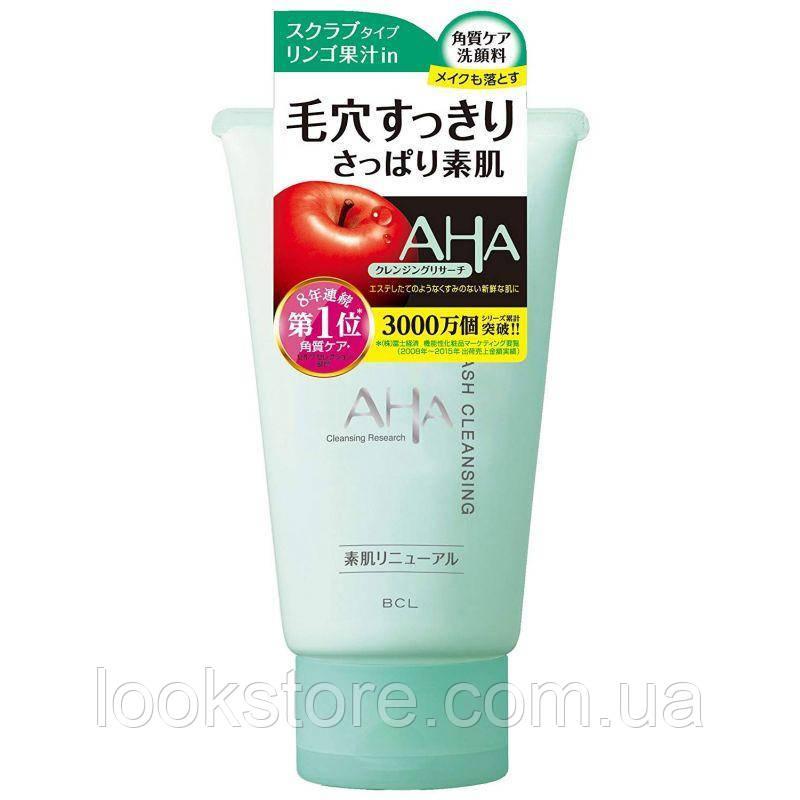Пена-скраб очищающая для лица BCL Aha Wash Cleansing (с фруктовыми кислотами) (120 г)