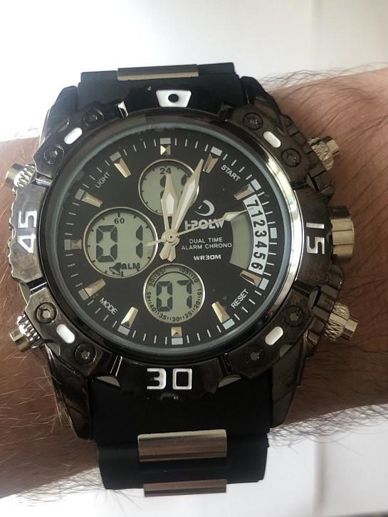 Мужские наручные спортивные часы I-POLW FSK-610