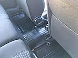 Резиновые коврики ВАЗ Калина 1118 2004- (седан) БРТ, фото 5