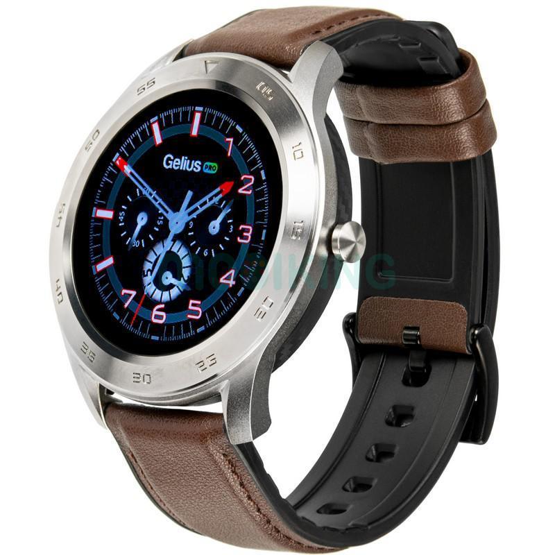 Smart Watch Gelius Pro GP-L3 (URBAN WAVE 2020) (IP68) Silver/Dark Brown