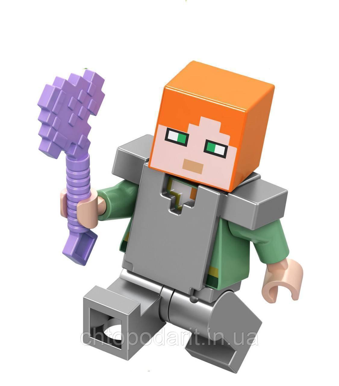 Человечки Minecraft Алекс Код 90-104