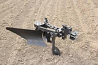 Плуг однокорпусный для мототрактора с гидравликой, фото 1
