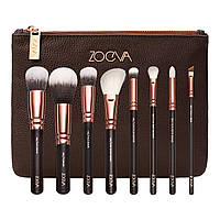 Набор кистей ZOEVA Rose Golden Luxury Brush Set Vol.1 коричневый 8 шт