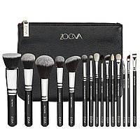 Набор кистей ZOEVA Luxe Complete Set черный с черным ворсом 15 шт, фото 1