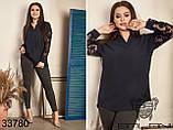 Строгая и элегантная женская блуза Размер : 50-52,54-56,58-60, фото 2