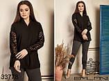 Строгая и элегантная женская блуза Размер : 50-52,54-56,58-60, фото 5