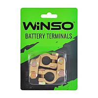 Клеммы аккумуляторные WINSO 2 шт. блистер, латунные 190 г. 146400