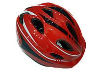 Велосипедный детский шлем Sports Helmet размер S-M Красный  (F18476)