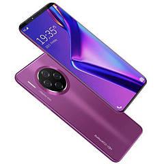 Смартфон Best Mate 33 Pro 6.1 дюймов, камера 32 Мп,8 Гб встроенной памяти фиолетовый