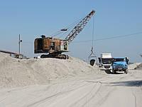 Песок рядовой строительный (мытый, речной), фото 1