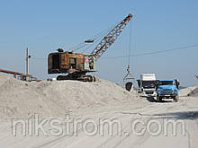 Песок строительный (речной, мытый)