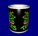 Кружка / чашка Черепашки-Ниндзя, фото 3
