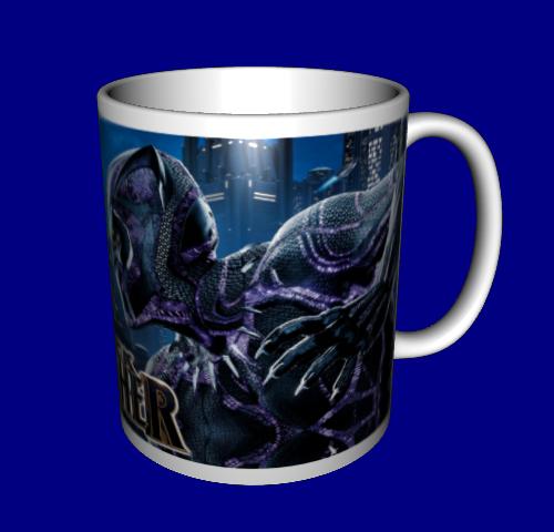 Кружка / чашка Черная Пантера