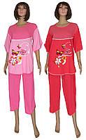 Снова в наличии женские трикотажные пижамы из натурального хлопка - серия Регина Батал от ТМ УКРТРИКОТАЖ!