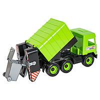 Детская игрушечная машинка мусоровоз для мальчика