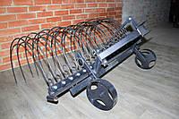 Грабли навесные для мототрактора (1,5 м), фото 1