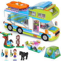 "Конструктор для девочек BELA Friends (LEGO Friends) ""Дом на колесах Мии"" 493 детали, 10858"