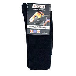 Диабетические носки с серебром FootMate Medical Thermo AG+, черные