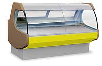 Холодильная витрина ROMEO 1.9 с двома испарителями и боковинами С-форм