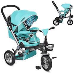 Велосипед для детей Turbo Trike M AL3645A-14 Mint три колеса мята