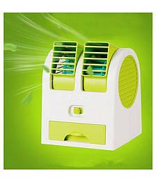 Вентилятор, Освежитель воздуха - Mini Fan MY-0199 зеленый