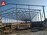 Ангар Двускат 24х54 навес, фермы, цех, здание, помещение, склад, сто, фото 6