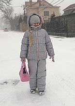 Б/У Зимняя куртка и полукомбинезон OshKosh, на возраст 6-7 лет