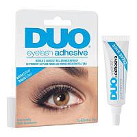 Клей для накладных ресниц DUO белый прозрачный, 7 г