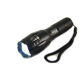 Тактичний ліхтарик Police 158000W BL-1831-T6, ручний ліхтар акумуляторний