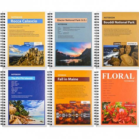 "Книжка записная В6 Color "" Kraft ""96л                                                         Артикул: KR6296K, фото 2"