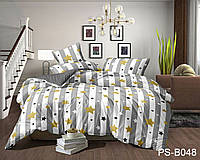 Полуторное постельное белье полисатин PS-B048 ТМ TAG
