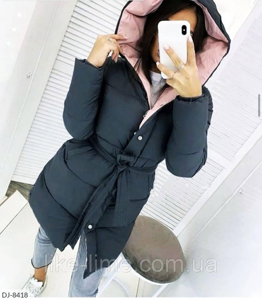 Женская удлиненная куртка,женская демисезонная куртка