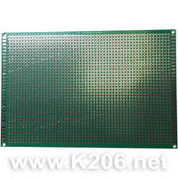 МАКЕТКА CRS-237 Плата макетная 100 x 150 мм Односторонняя