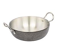 Сковорода WOK алюминиевая для жарки без крышки диаметр d= 27см A-PLUS 0422 выпуклое дно