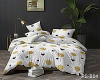 Полуторное постельное белье полисатин PS-B04 ТМ TAG