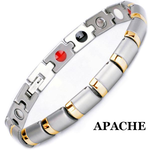 Магнитный браслет Апачи Gold
