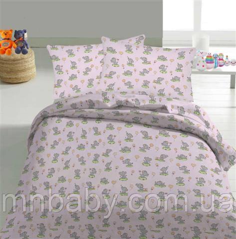 Комплект постельного белья Слоники