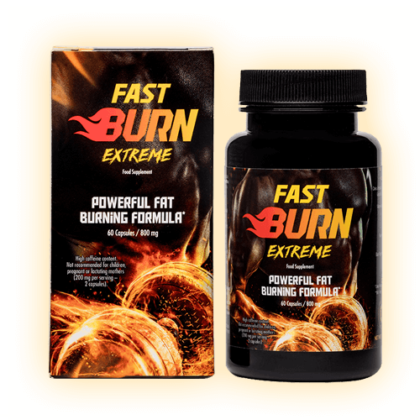Fast Burn Extreme (Фаст Берн Екстрім) - капсули для схуднення