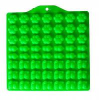 Силиконовая форма для мармелада желейки Котики 18х17.5х1см