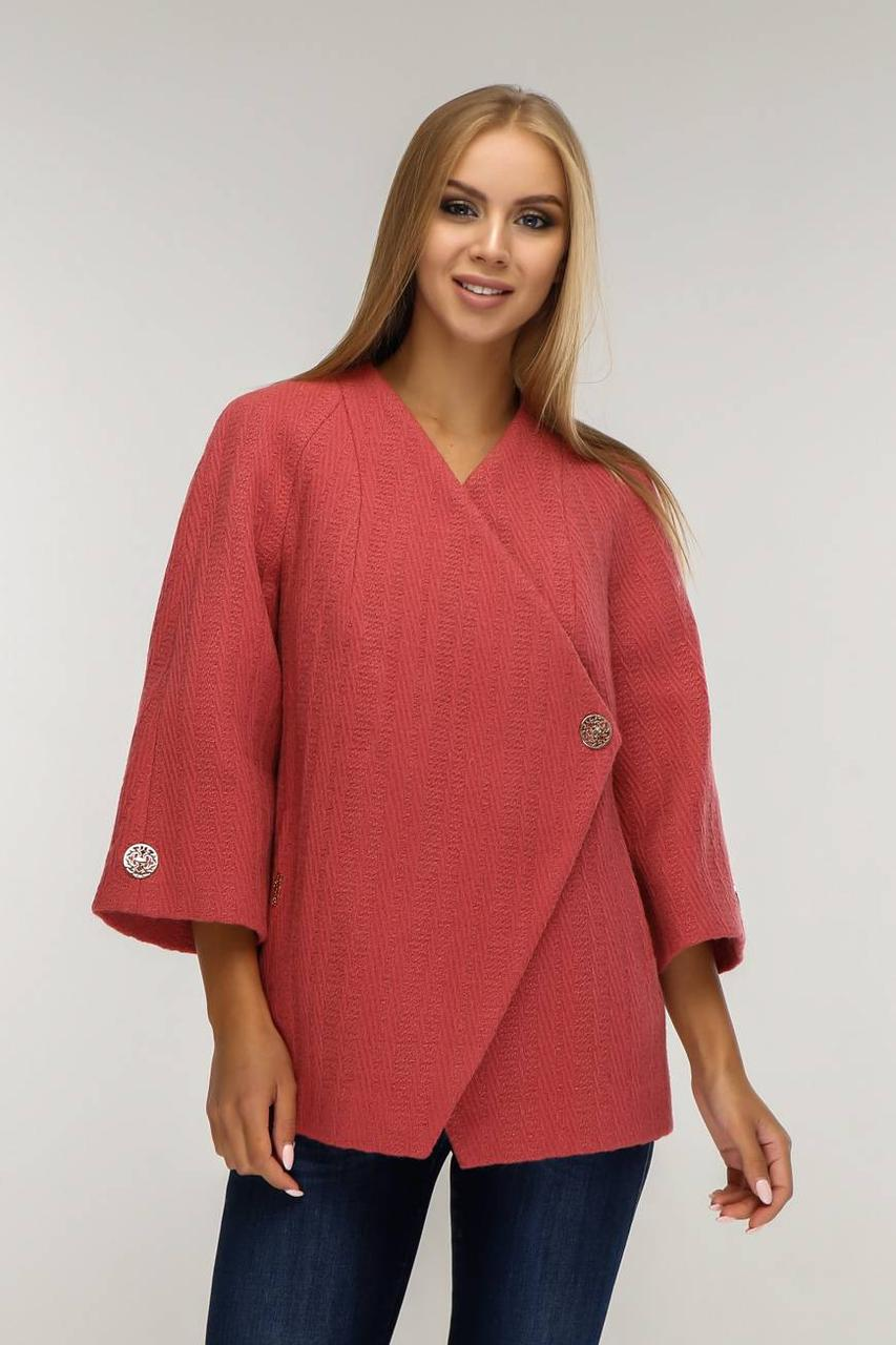 Женское Пальто В-1182 Арт. 3443 Тон 1531 Favoritti