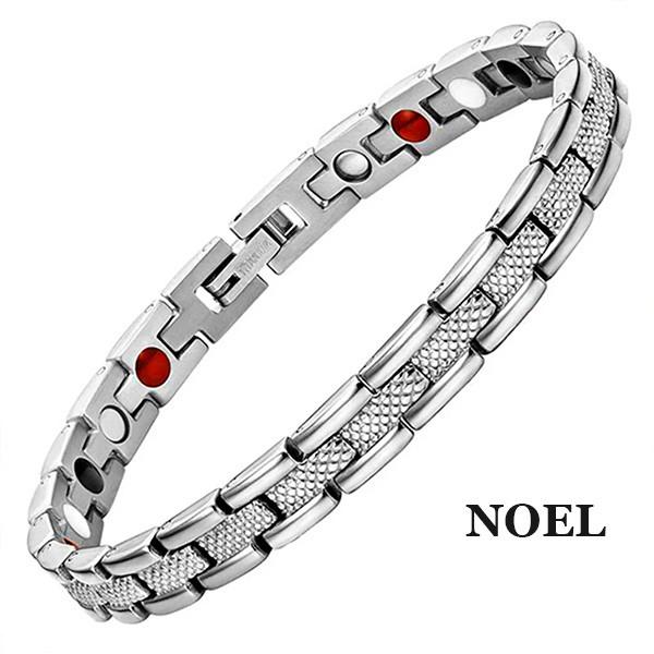 Магнитный браслет Noel Silver
