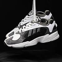 Кроссовки Adidas Yung 1 Black Green Мужские