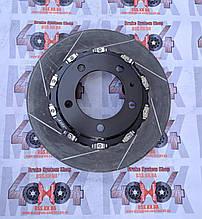 Диск составной в сборе передний 355мм для тормозной системы JBT