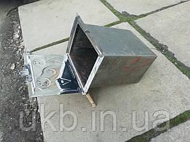 Духовка для печи Нержавейка 375*310 мм, фото 3