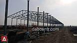 Ангар 20х72х5 склад, каркас, 1440 кв.м. новий, металоконструкція, фото 2