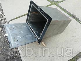 Духовка для печі Чорна 375*310мм (Мала), фото 2