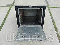 Духовка печная Черная 375*310мм (Малая)