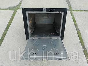 Духовка печная Черная 375*310мм (Малая), фото 2