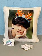 Печать на подушке фото