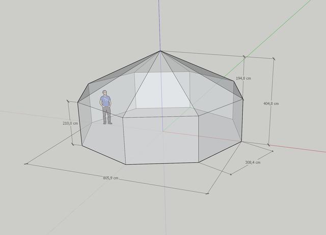 палатка пирамида киев
